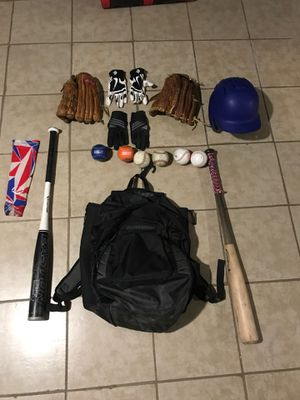 Baseball equipment for Sale in Johnston, RI