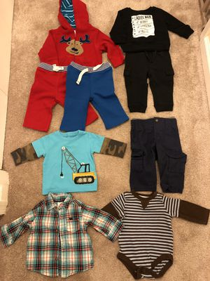 Baby boy 6-9 months size clothes for Sale in Kensington, MD