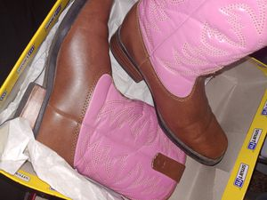 Girls cowgirl boots size 12.5 for Sale in Houston, TX