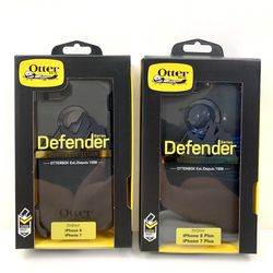 7 / 8 / 7 Plus / 8 Plus iPhone OtterBox Case. Belt Clip & Holster. Black. for Sale in Sylmar,  CA