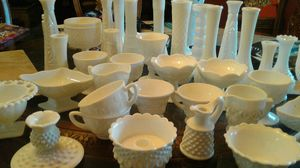 Milk glass collection $100 make me an offer! for Sale in Modesto, CA