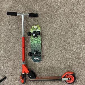 Avigo Scooter & pauls 17inch Skate Board for Sale in Atlanta, GA