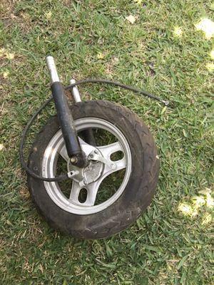 2001 to 2007 Honda metropolitan front wheel set up for Sale in Rosemead, CA