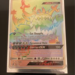 Pokémon Rainbow Rare Guzzlord GX for Sale in Troutdale,  OR