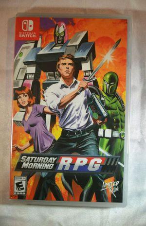Saturday Morning RPG Nintendo Switch for Sale in Pomona, CA