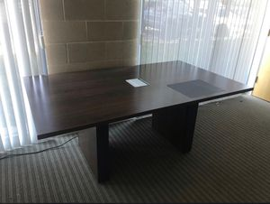 Conference table with outlet for Sale in Tustin, CA