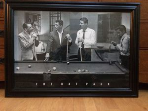 Classic RatPack Framed Photo for Sale in Fairfax, VA