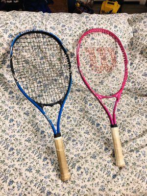 Wilson tennis rackets - $20 each for Sale in Glendale, AZ