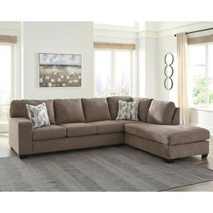 Quality made sofa chaise sectional with pillows!! for Sale in San Clemente, CA