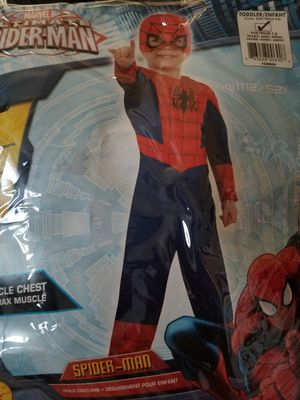 Spider man Toddler Costume 1 - 2 years. NO MASK. for Sale in Las Vegas, NV