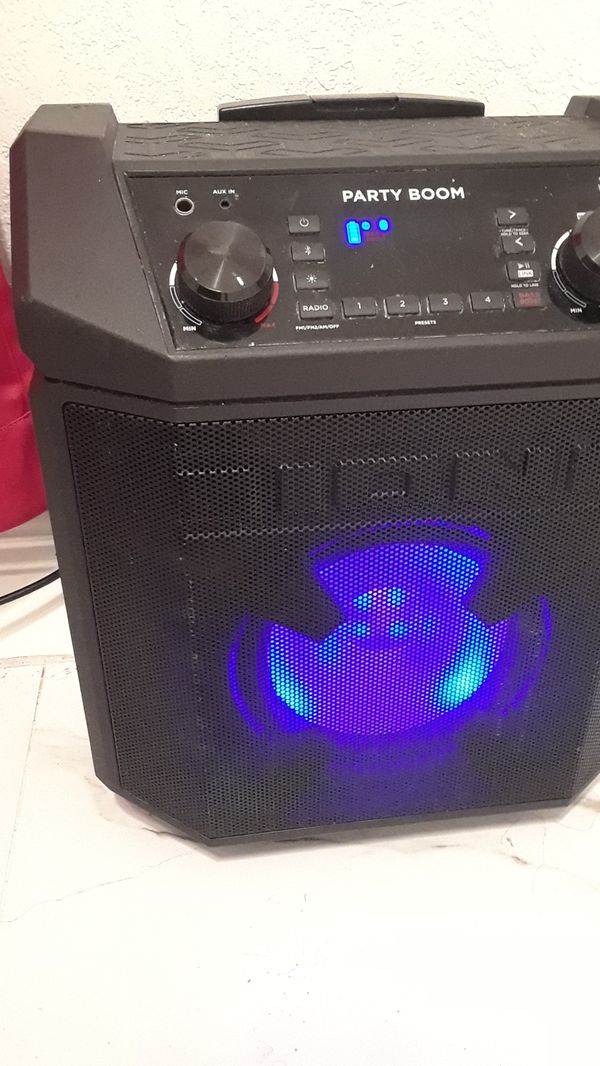 Big speaker party or whatever you can do with it