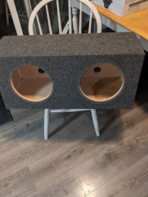 2 10 inch dual subwoofer speak box $20 Firm! for Sale in Portland, OR