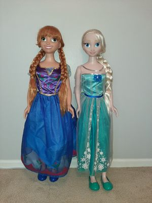 Tall Frozen Dolls for Sale in Plainfield, IL