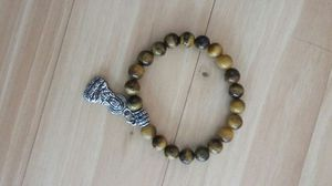 Tigers Eye Bracelet with Buddah Charm for Sale in Portland, OR