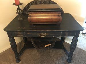 Antique Black Desk/ Vanity for Sale in San Diego, CA