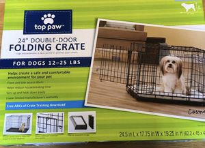 """24"""" double door folding crate for Sale in East Cleveland, OH"""