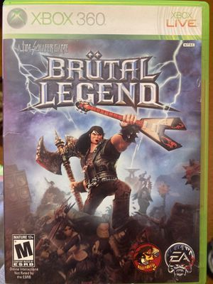 Xbox 360 - Brutal Legend for Sale in Guadalupe, CA