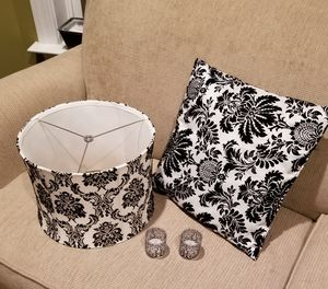 Lamp Shade and Accent Pillow for Sale in Glenn Dale, MD