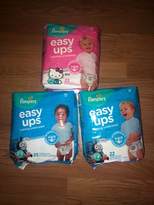 PAMPERS EASY UPS $6 EACH PACK for Sale in Wauchula, FL
