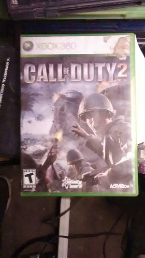 X BOX360. Call of duty 2 for Sale in Modesto, CA