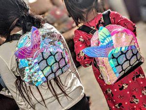 Mermaid sequins backpacks for Sale in Escondido, CA