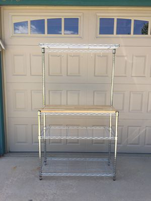 Stainless steel kitchen shelf unit for Sale in Westminster, CO