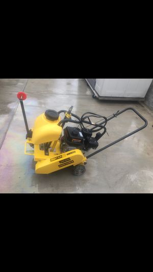King force tmg-q300 concrete saw for Sale in Tracy, CA