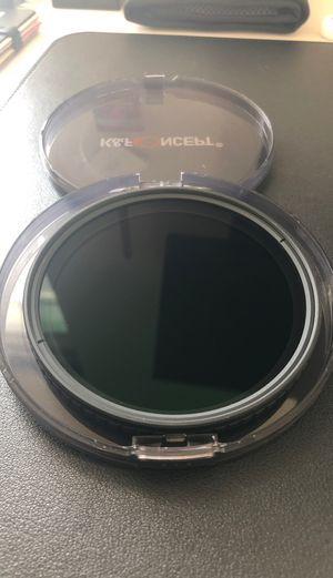 K&F 77mm ND variable filter. W carry pouch. for Sale in Lowell, MA