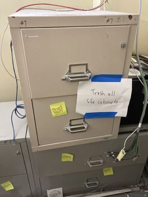 Fire proof file cabinets for Sale in Whittier, CA