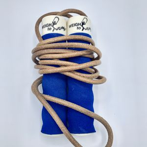 Vintage All Pro Weigh to Jump Genuine Leather Jump Rope With Weighted Handles for Sale in Brooklyn, NY