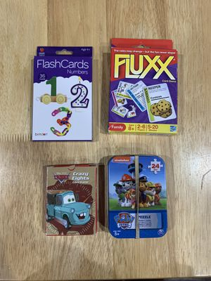 Card games and puzzle for Sale in House Springs, MO
