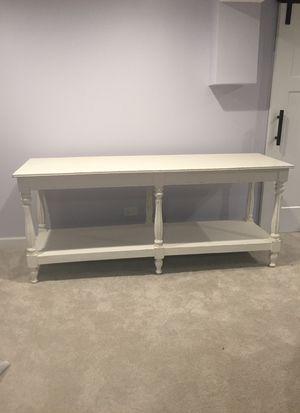 Farmhouse Sofa Table for Sale in Arlington Heights, IL