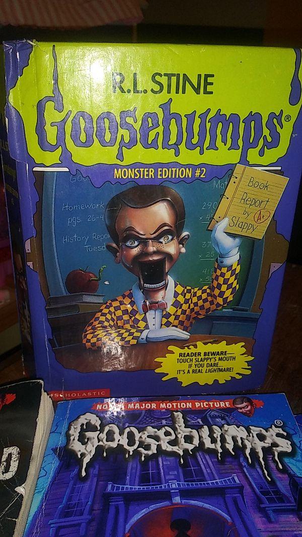 Goosebumps books