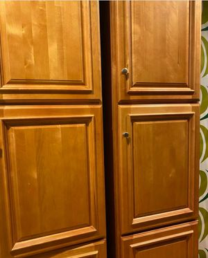 1 Tall kitchen/Bathroom cabinets for Sale in Leominster, MA