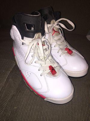 Jordan infrared 6's for Sale in Pasadena, CA