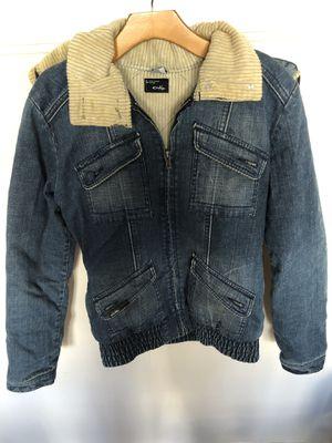 100% authentic Oakley Jean jacket size S/M for Sale in Rockville, MD