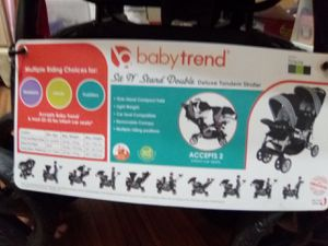 Baby trend sit and stand deluxe stroller brand new for Sale in Eastman, GA