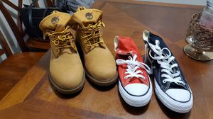 BRAND NEW TIMS AND CHUCKS for Sale in Fresno, CA