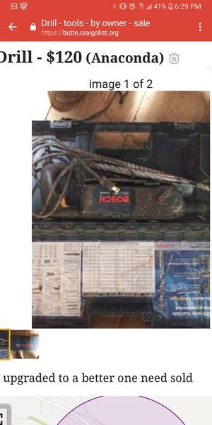 Chisel / drill for Sale in Anaconda, MT