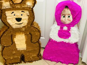 Custom made piñatas. Masha y el oso for Sale in Chandler, AZ