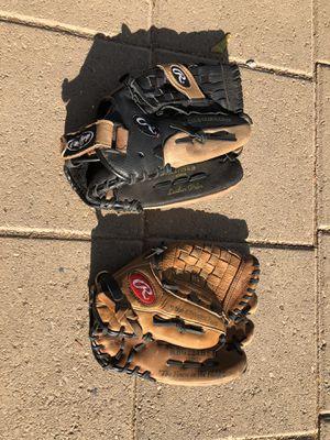 2 softball Gloves!! for Sale in Surprise, AZ