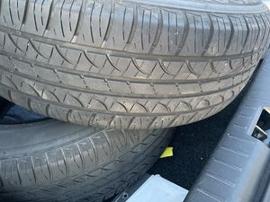 Two tires for sale. P195/65r15 for Sale in Cary, NC
