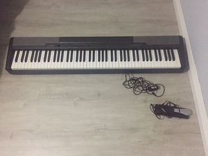 Casio keyboard and pedal for Sale in Carlsbad, CA