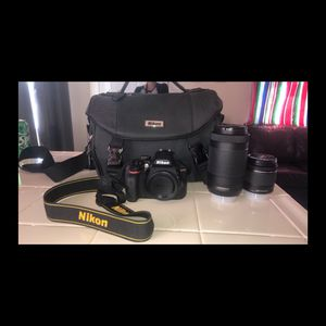 Nikon D3400 camera for Sale in Modesto, CA