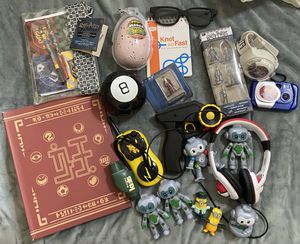 Lot of toys. Ben 10 watch. Animal figures, head phones, star wars and more random toys. Some unopened for Sale in Round Rock, TX