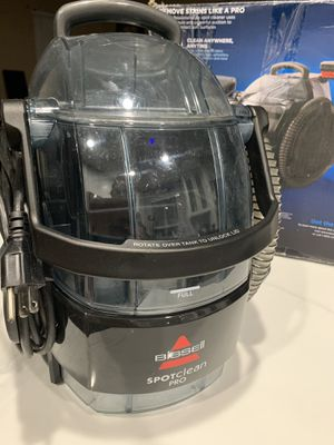 BISSELL Spotclean Pro Portable Carpet Cleaner for Sale in Las Vegas, NV