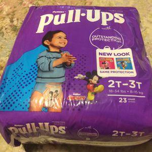 Huggies Pull Ups Boy Size 2t 3t for Sale in Riverside, CA