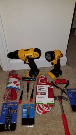 Dewalt 20v flashlight and driver for Sale in Ashburn, VA