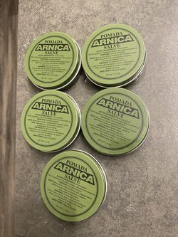 5 Arnica Pomada/Salve for Sale in Benicia, CA
