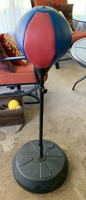 Everlasting Punching Bag with Gloves for Sale in Clearwater, FL
